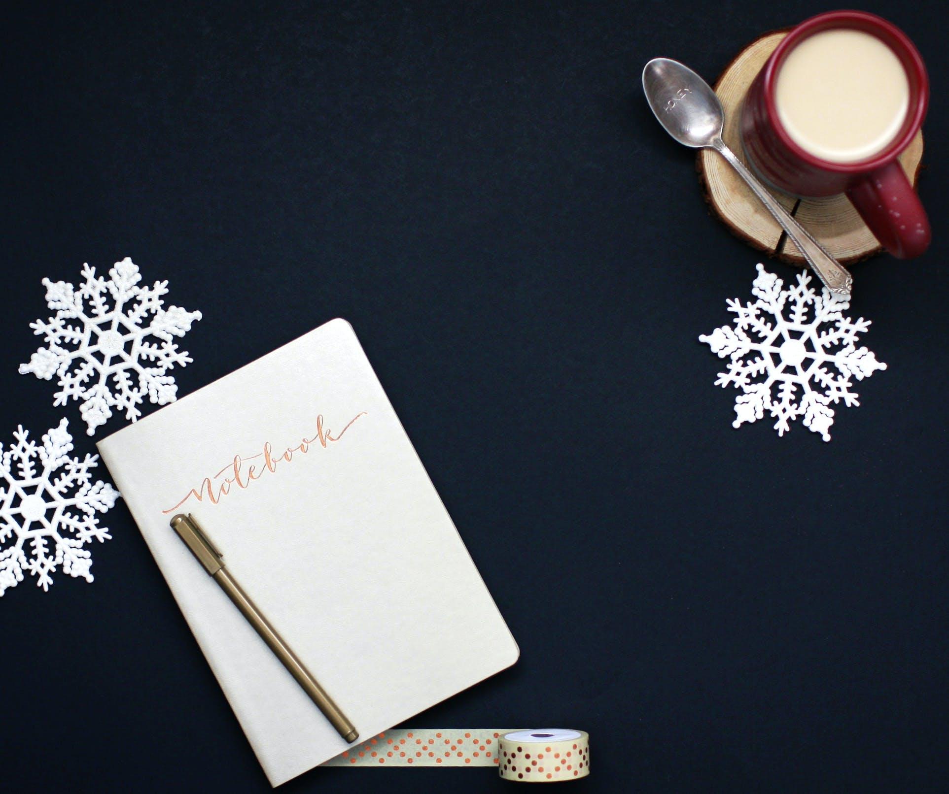 Fotos de stock gratuitas de bolígrafo, café, cafeína, cinta