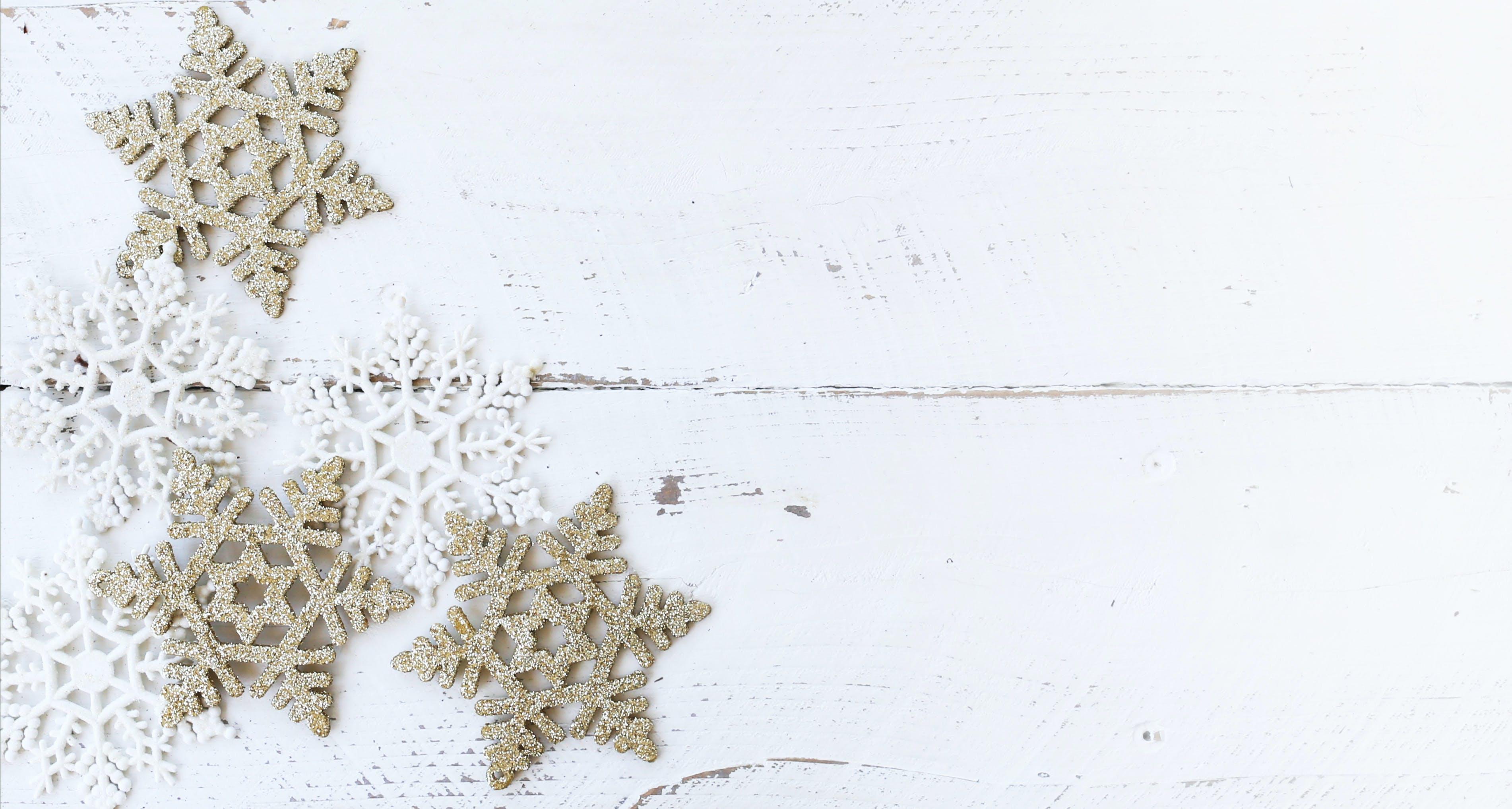 Gratis lagerfoto af blogbilleder, ferie, hvid baggrund, hvid jul