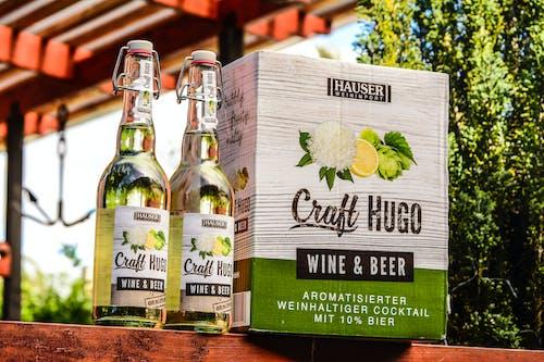 Kostenloses Stock Foto zu alkohol, bier, container, flaschen