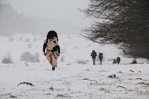 人, 兒童, 冬季, 冰 的 免费素材图片