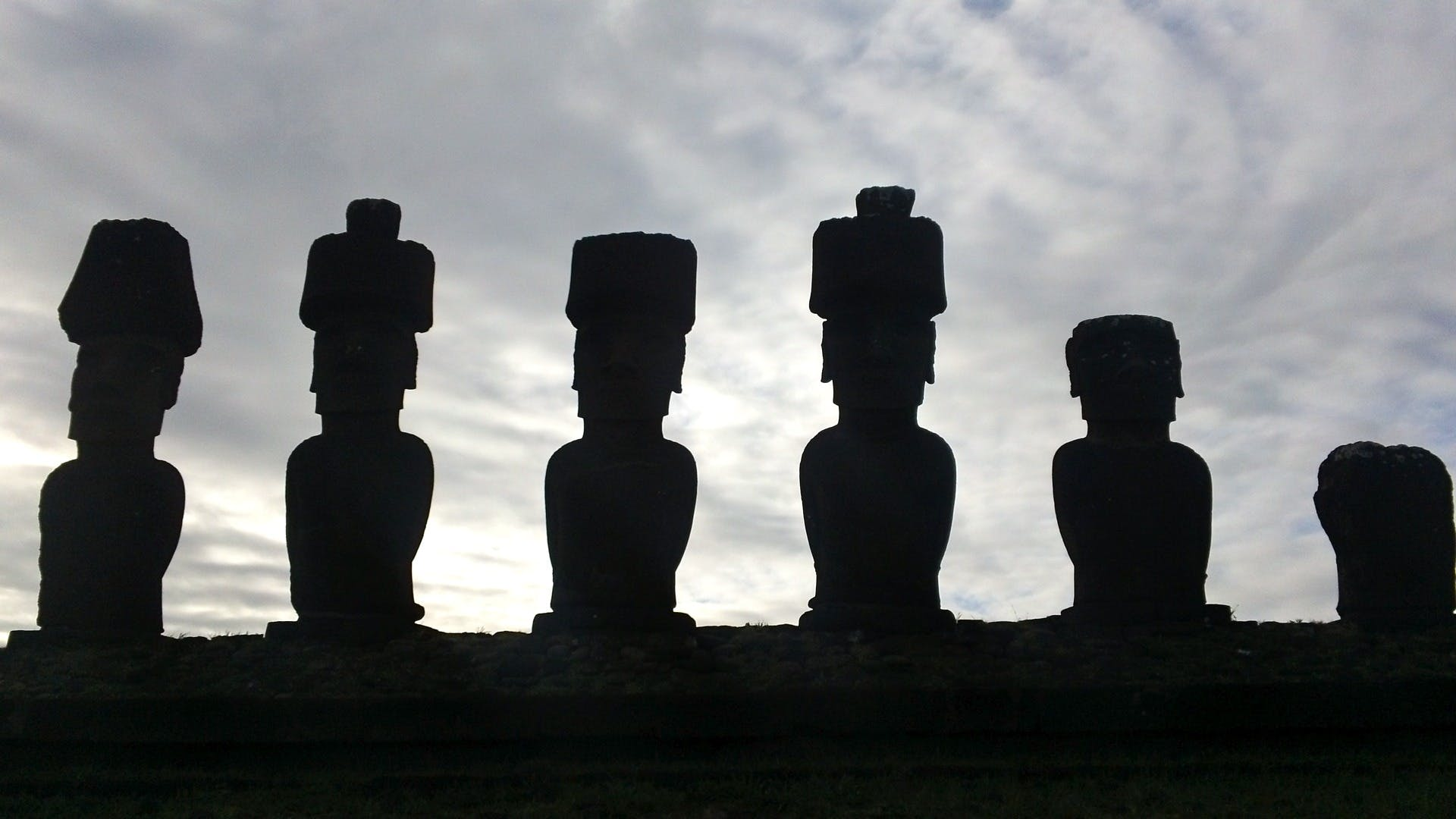 Foto stok gratis bersejarah, budaya, kuno, moai