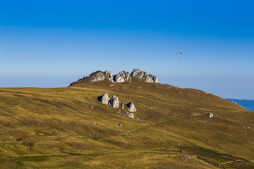 Free stock photo of landscape, nature, sky, blue