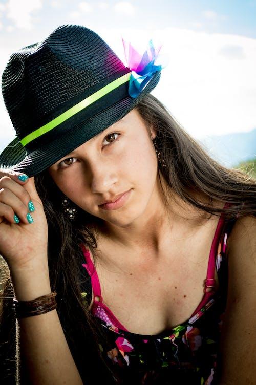 Photos gratuites de chapeau, dame, femelle, femme
