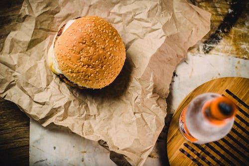 Photos gratuites de collation, en-cas, hamburger