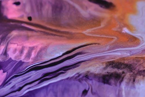 Kostenloses Stock Foto zu abstrakt, draußen, farbe, fels