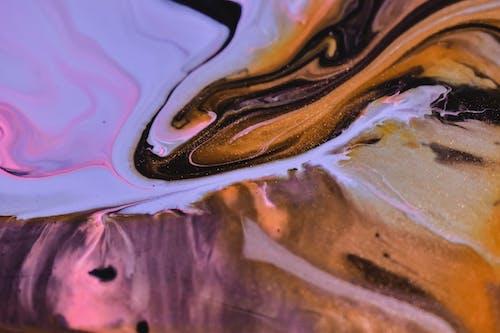 Kostenloses Stock Foto zu abstrakt, bunt, draußen, gouache