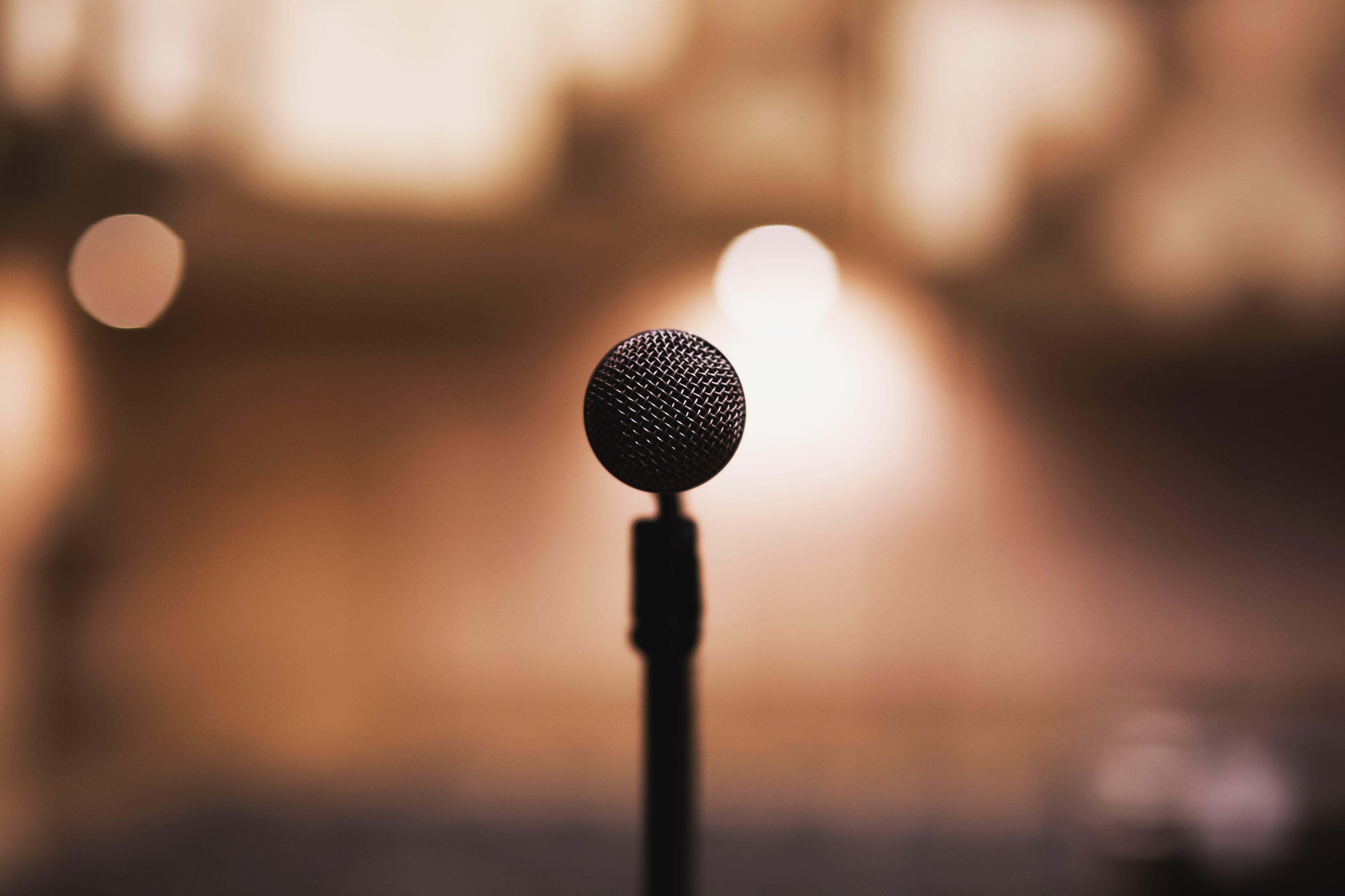 100+ amazing microphone photos · pexels · free stock photos