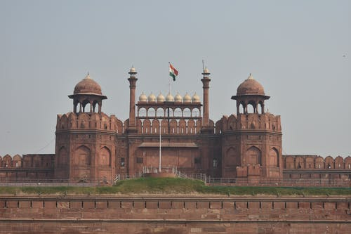 Free stock photo of india, Lal quila, red fort, Red fort new delhi