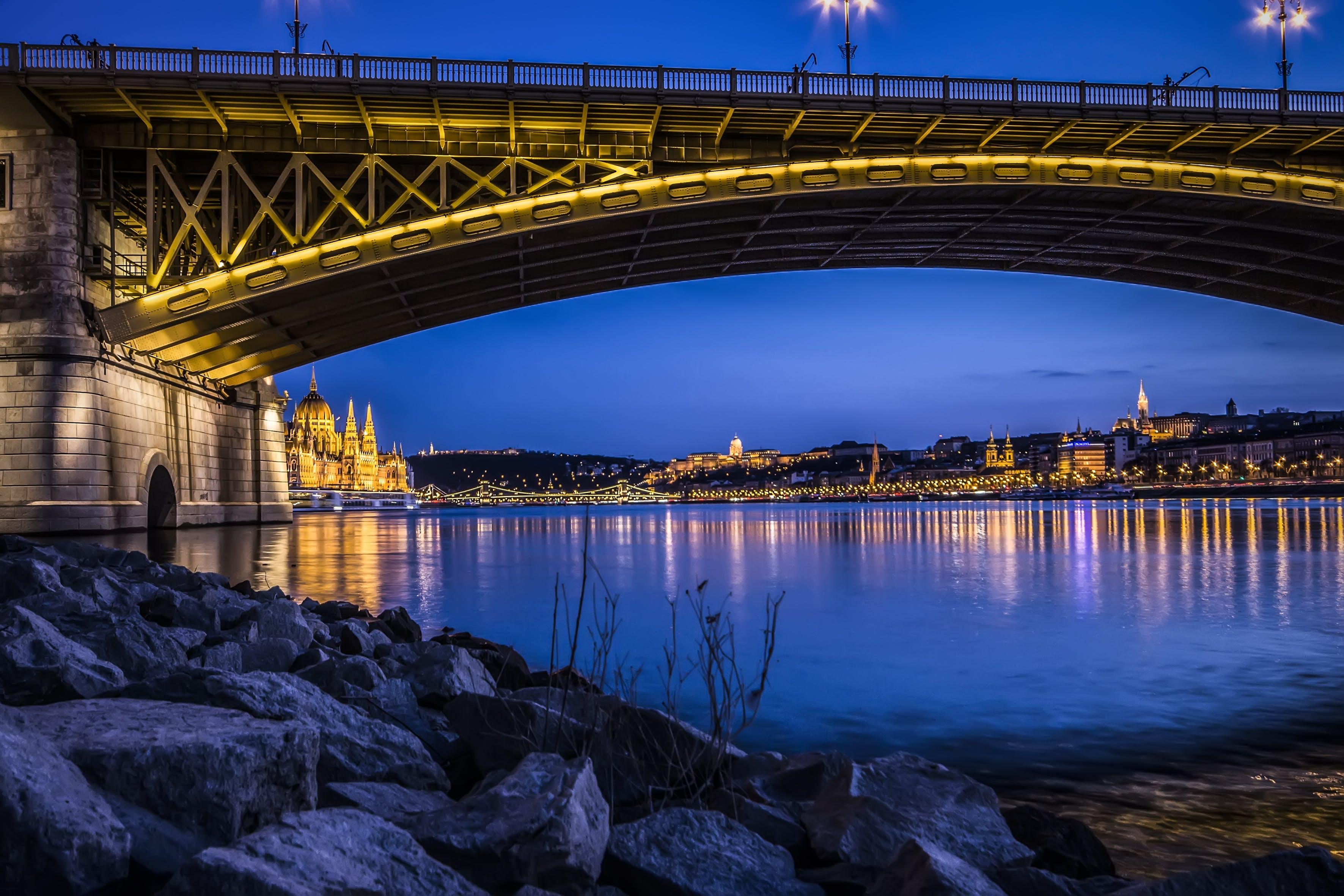 Free stock photo of light, city, sky, water