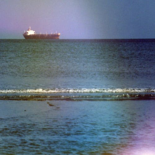 A Ship On The Horizon Photo