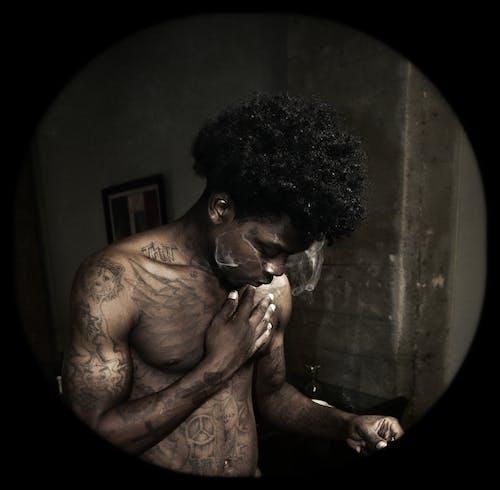 çember, daire, dövmeler içeren Ücretsiz stok fotoğraf