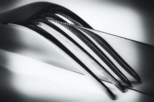 Kostnadsfri bild av bestick, förgrening, gaffel, närbild