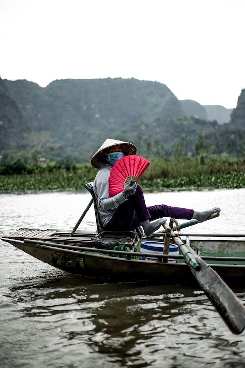Photos gratuites de anonyme, bateau, canoë