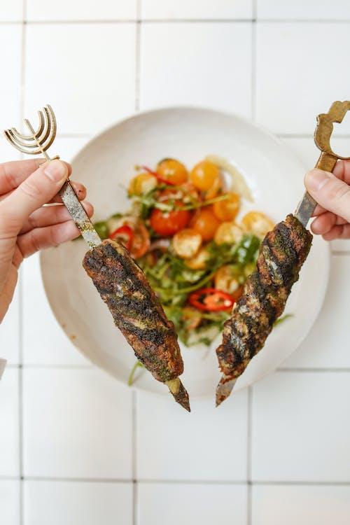 串燒, 传统食物, 光明节 的 免费素材图片