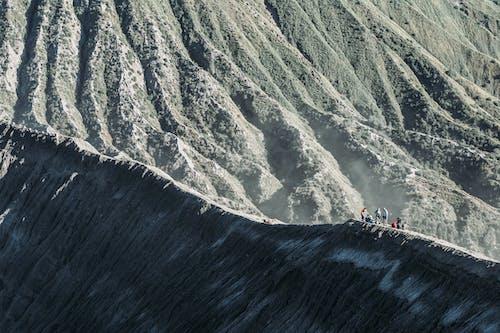 People on a Mountain Climbing Adventure