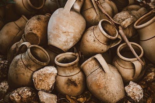 Kostnadsfri bild av behållare, hög, lergods