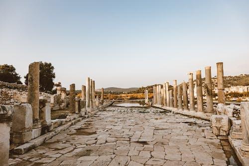 고고학, 고대의, 기둥의 무료 스톡 사진