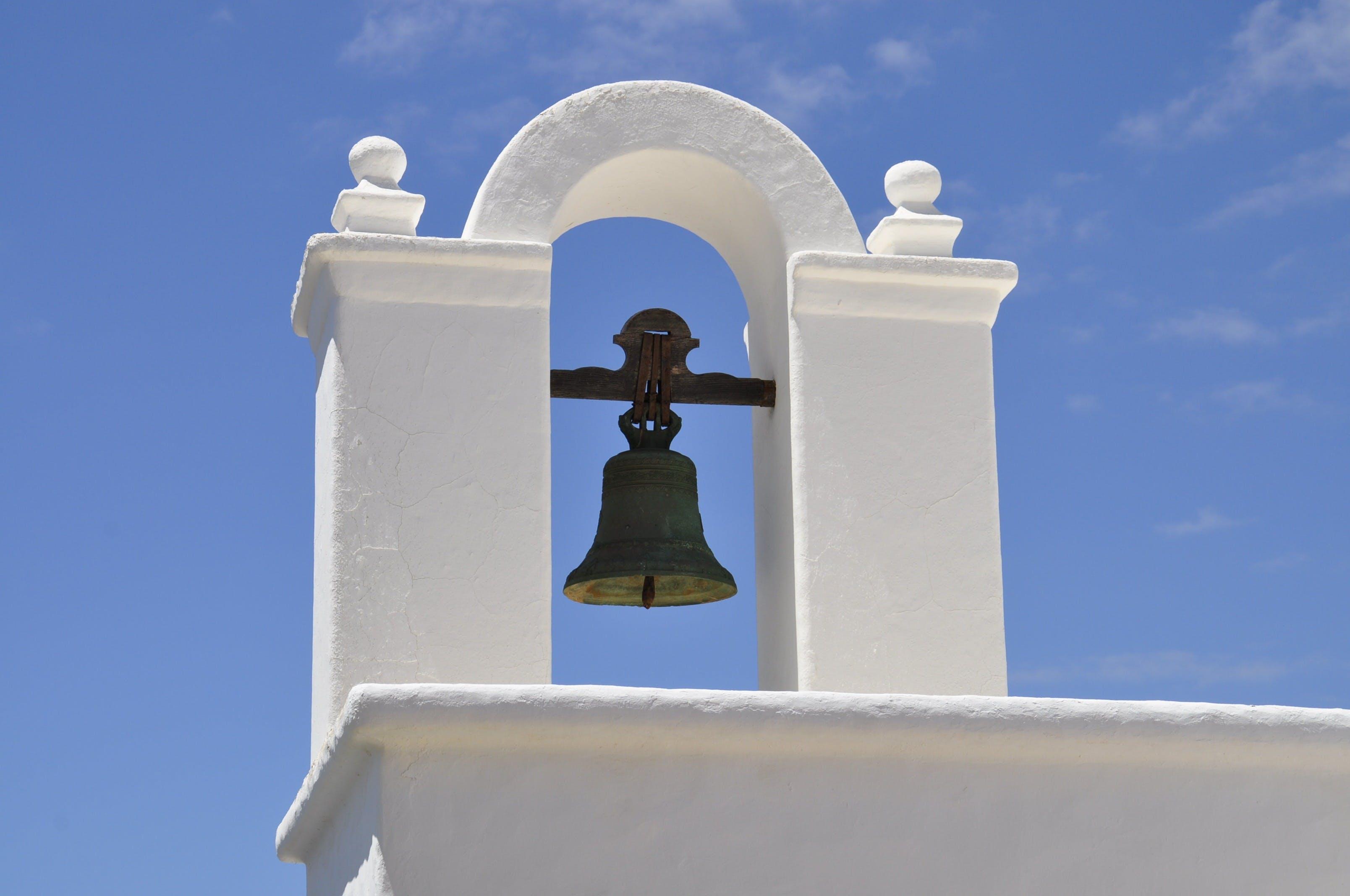 Black Bell during Daytime