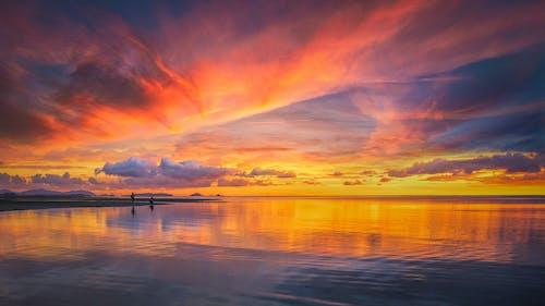 反射, 天空, 日出 的 免費圖庫相片