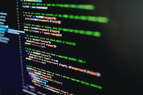 Programming Language on a Screen