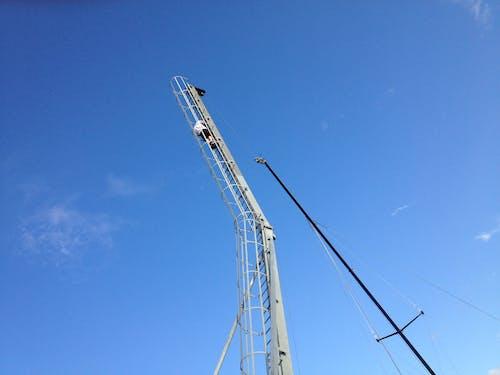 Ingyenes stockfotó fúrótorony, kék ég témában