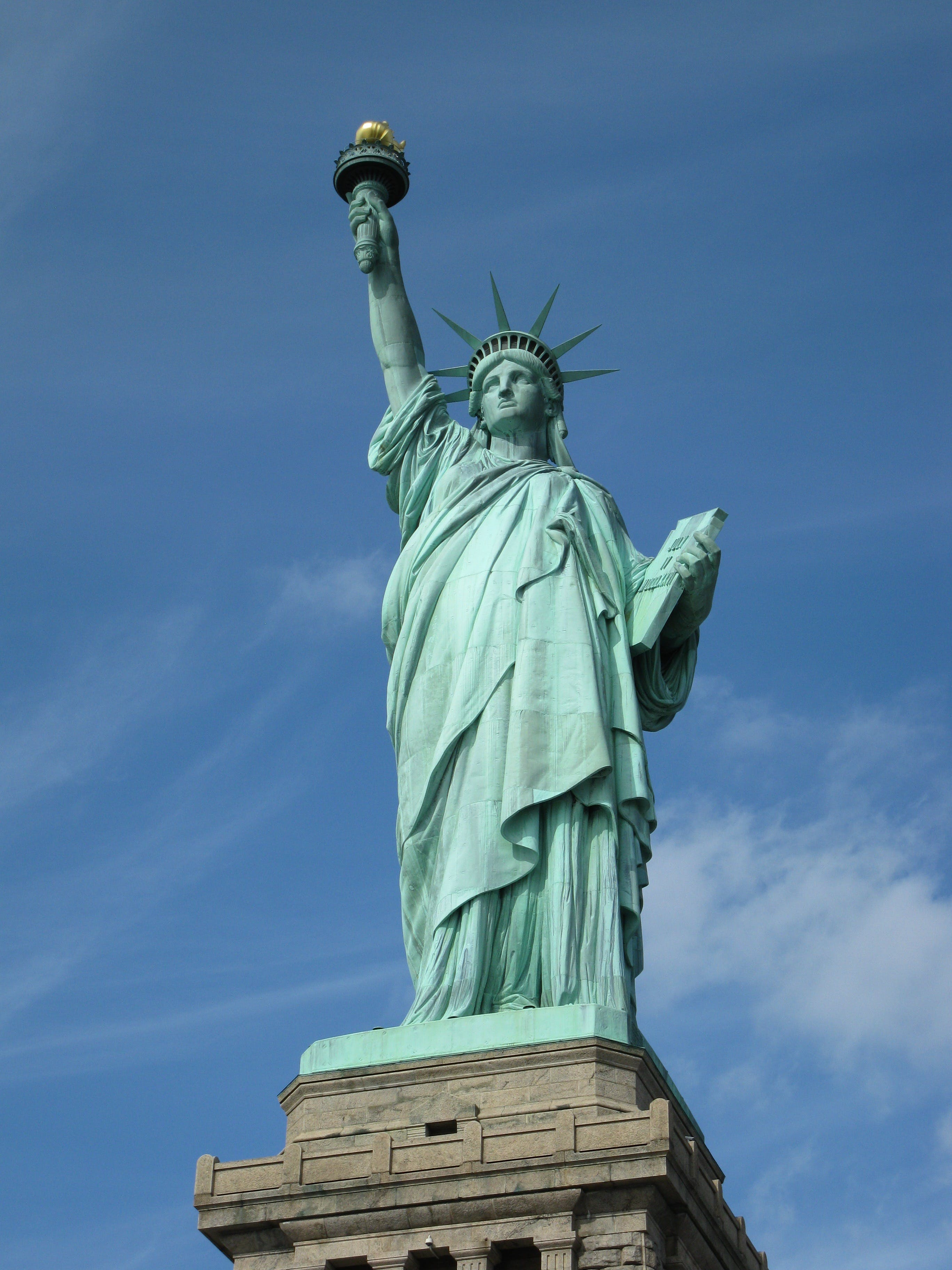 Gratis lagerfoto af Frihedsgudinden, monument, New york, New york city