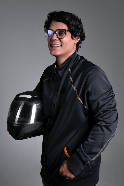 Free stock photo of biker, motor bike, pilot