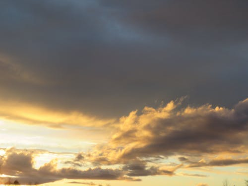 Free stock photo of afternoon sky