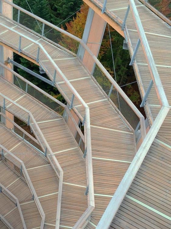 Free stock photo of floor, garden, spiral