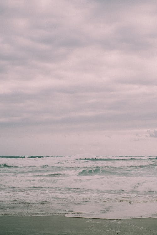 Free stock photo of beach, cloud, landscape, ocean