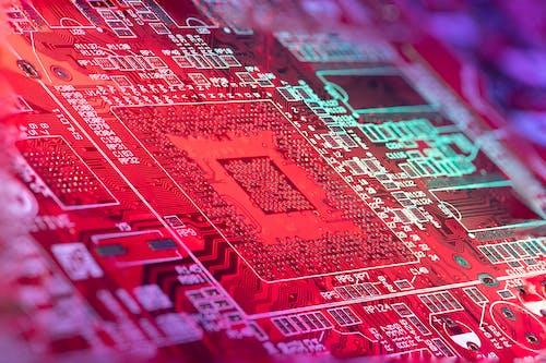 Foto d'estoc gratuïta de circuit, component, condensador, CPU
