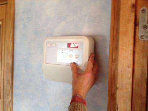 Immagine gratuita di controllore, muro, sauna