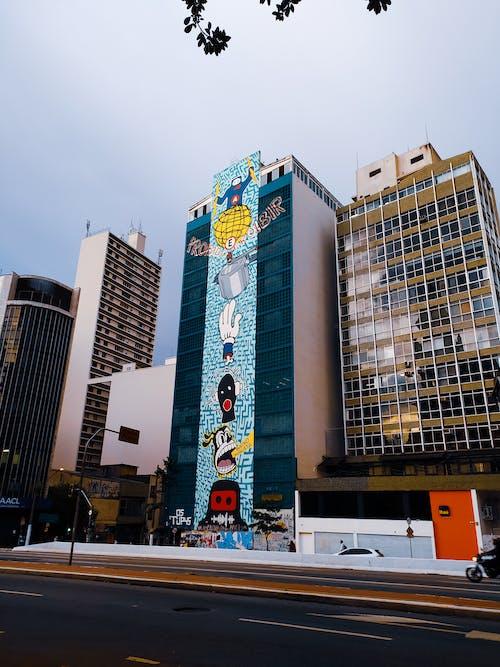 Ingyenes stockfotó graffiti művészet, predios témában