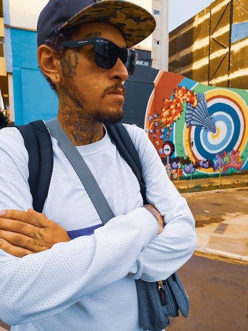 Ingyenes stockfotó Férfi, hiphop ruházat, ruházat témában