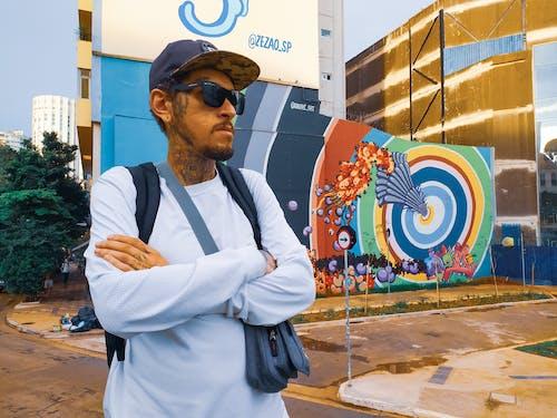 Ingyenes stockfotó graffiti művészet, városi ruházat témában