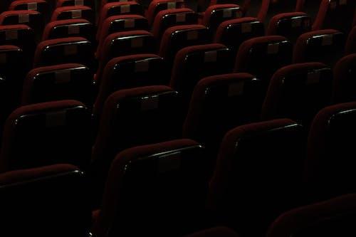 Free stock photo of empty seats, imagine, red seats