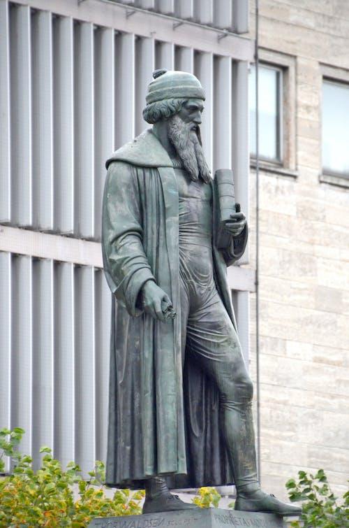 Ingyenes stockfotó bronz szobor, gutenberg, johannes gutenberg témában