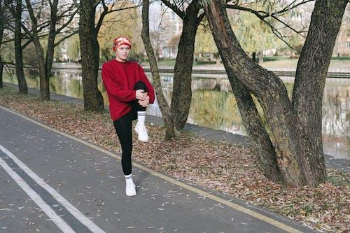 açık hava, activewear, antrenman yapmak içeren Ücretsiz stok fotoğraf
