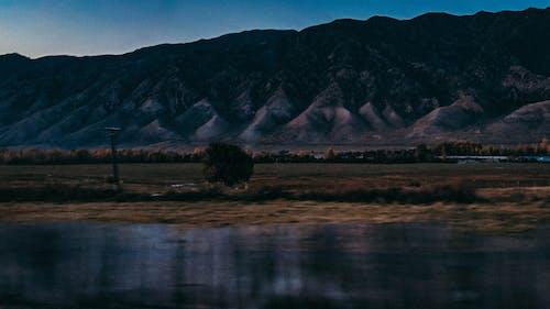 Free stock photo of blue, mountain, road