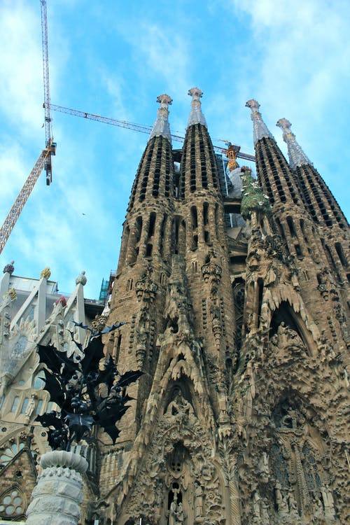 Photos gratuites de barcelone, construction, église