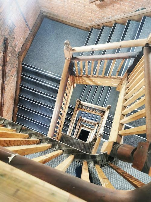 Darmowe zdjęcie z galerii z architektura, budynek, klatka schodowa, powyżej