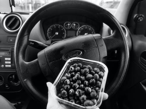 藍莓, 黑與白 的 免費圖庫相片