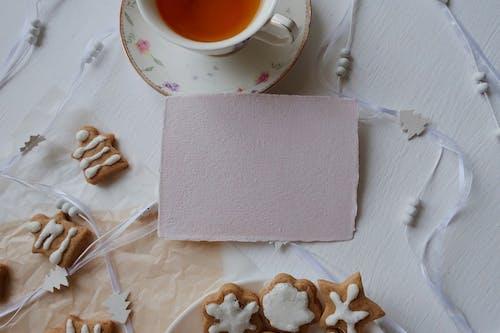 White Ceramic Mug on White Tissue Paper