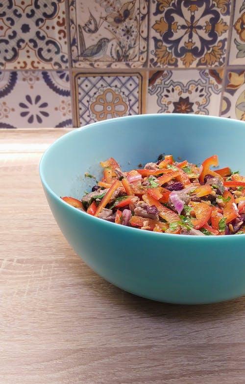Бесплатное стоковое фото с салат, свежий салат