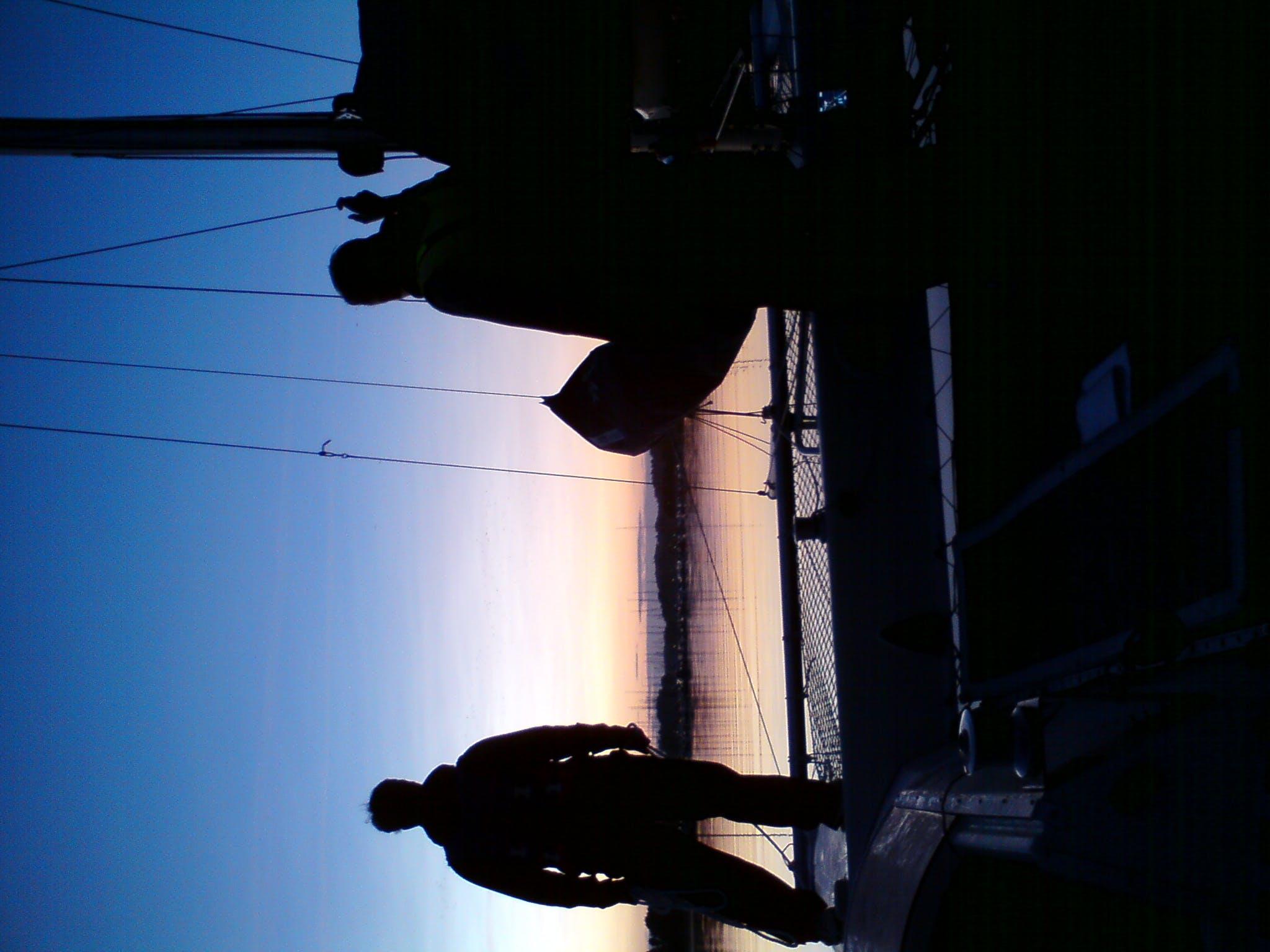 Free stock photo of sailing, sunset