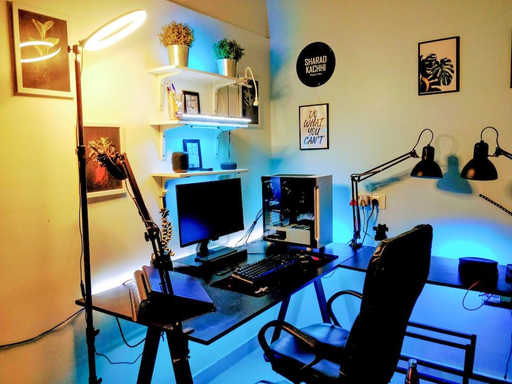 Free stock photo of gaming pc, gaming setup, stream