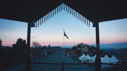Free stock photo of 4k wallpaper, blue mountains, dawn