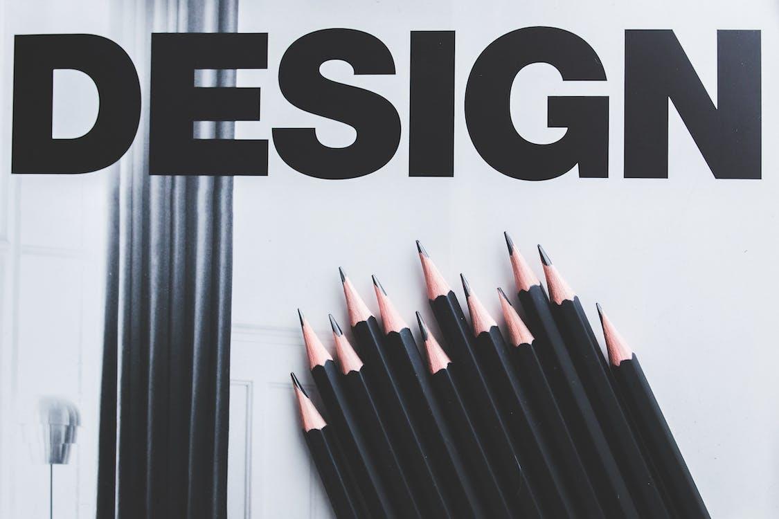Immagine gratuita di apporre un marchio, design, matite