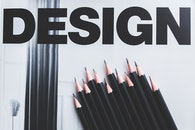 typography, pens, design