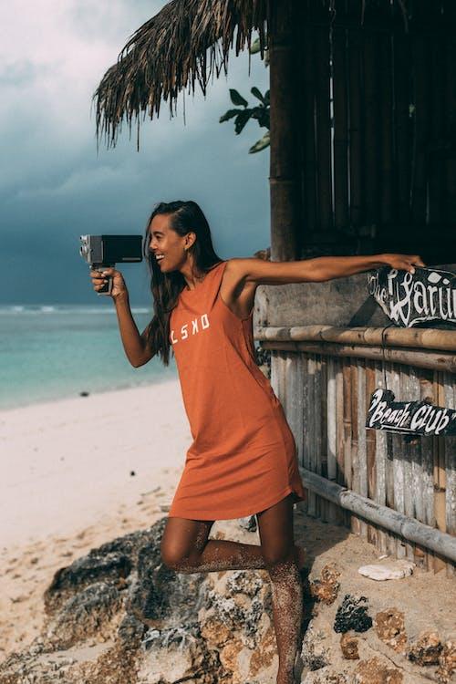 Free stock photo of adolescent, bali, beach, enjoyment